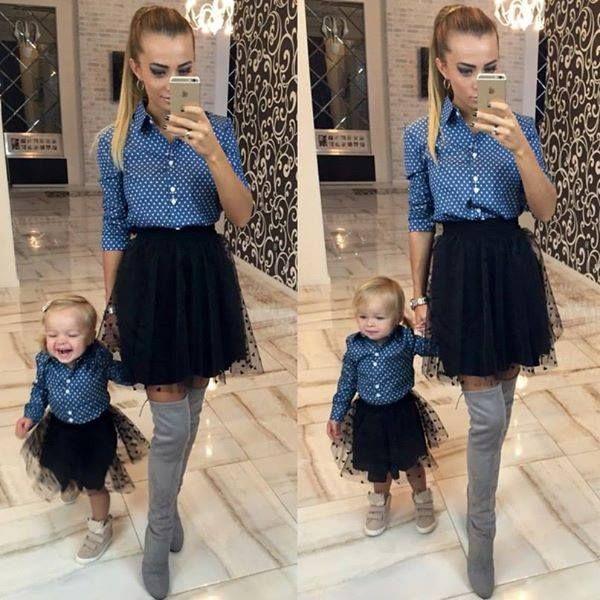 Camicie in jeans mamma e figlia  Mamma taglia m e la figlia 2/3/4 anni    2 camicie 75 euro  https://www.lorcastyle.it