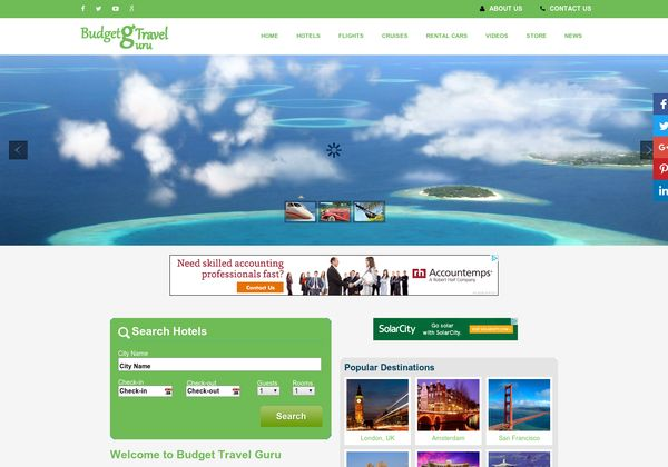 100% Automated Hotel, Flight, Cruises, Rental Cars  & Amazon Store Search Engine Script  Earn $ 1000+ a Month Easily & Automatically       About Travel Affiliate Guru ( 2.0 - Latest Version ) It's include 2,360,426 hotels worldwide, Search in 30 different languages.  This