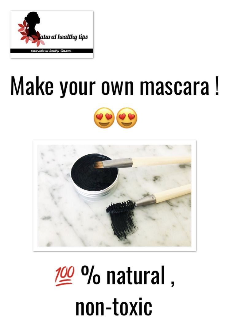 Simple methods to make do-it-yourself mascara Waterproof !