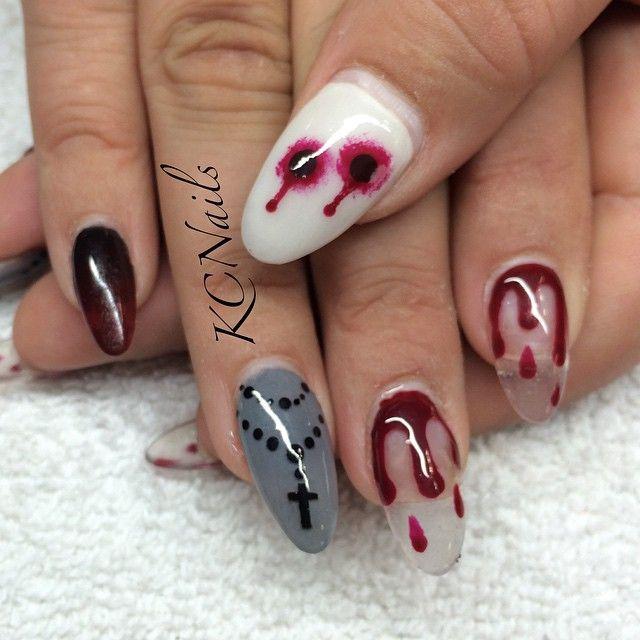 scary nails ideas