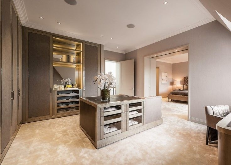A Penthouse Apartment in Albert Hall Mansions interior designed by Lucia Caballero for London International