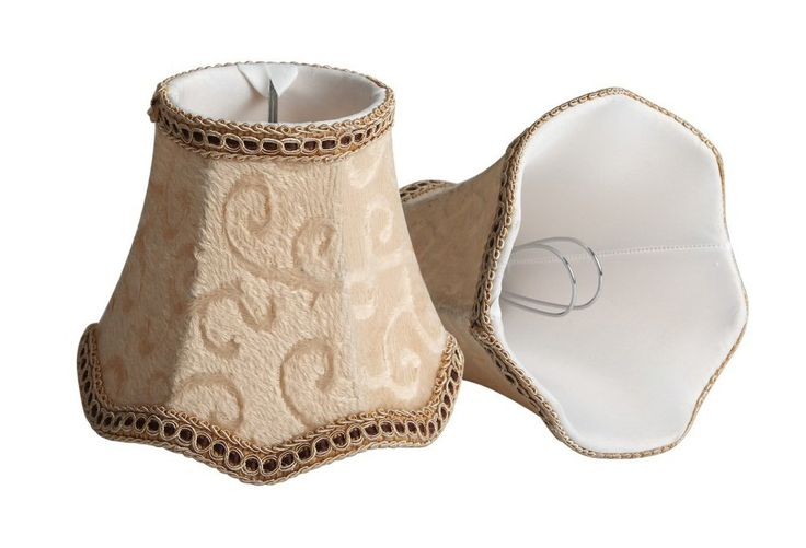 Hall of Lamp Small Lamp Shade Chandelier Lamp Shades Clip on,Set of 2