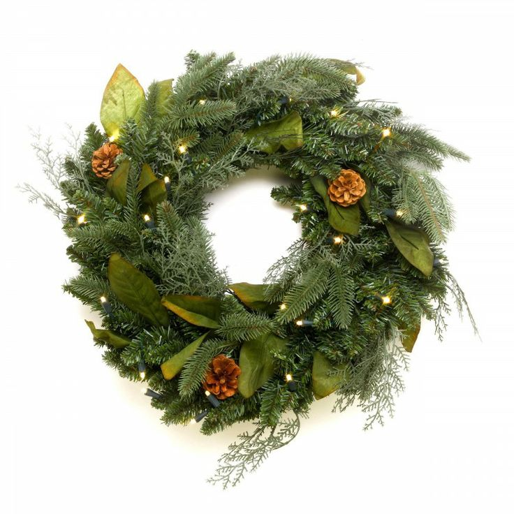 Use this all purpose wreath anywhere in the