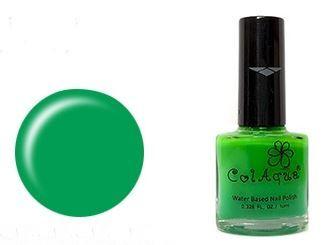 Water-based Nail Polish [ColAqua] 11Street #NailArt #PoshNails #GreenNails
