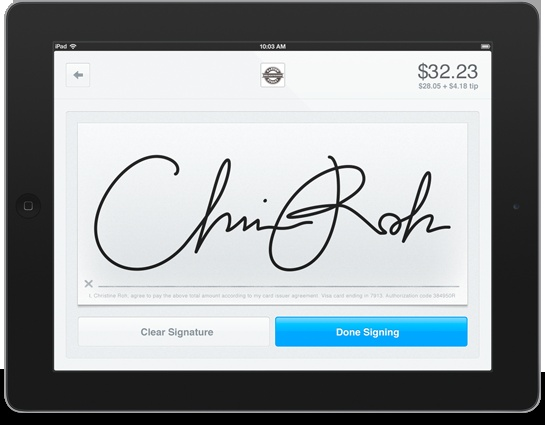 how to use non credit card with square