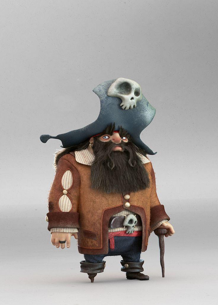 Brilliant character design by Felipe Bassi