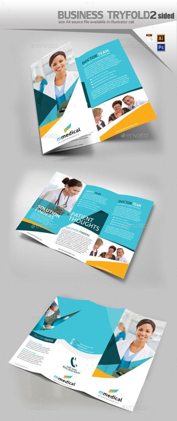 Medical Three Fold Pamphlet Design Template #design Download: http://graphicriver.net/item/medical-three-fold-pamphlet-design/10282892?ref=ksioks