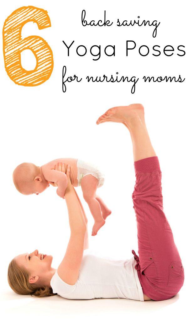 6 Yoga poses for nursing moms    #yoga     http://www.ironcoreathletics.com/