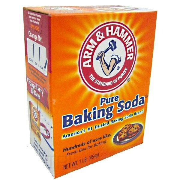 BAKING SODA (natriumbicarbonaat) ☆ Ook wel zuiveringszout genoemd. Is een onmisbaar ingrediënt. Let op! Dit is geen huishoudsoda (natriumcarbonaat zonder 'bi'). En ook geen bakpoeder (een mix met o.a. ook backing soda). Te koop bij Dille & Kamille, de toko en de betere kookwinkels.