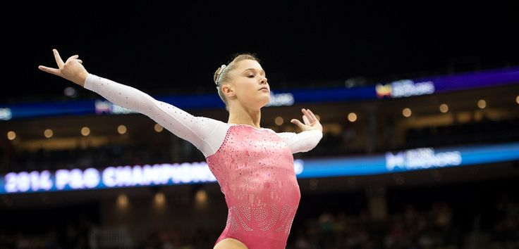 Madison Desch 2014 P&G Championships Day 1
