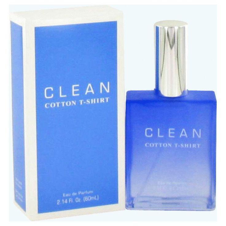 Clean Cotton T-shirt By Clean Eau De Parfum Spray 2.14 Oz