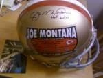 Joe Montana NFL Football San Fransisco 49ers Signed full size Proline HOF Inscribed Stat Helmet.. http://yardsellr.com/yardsale/Erik-Marx-416944