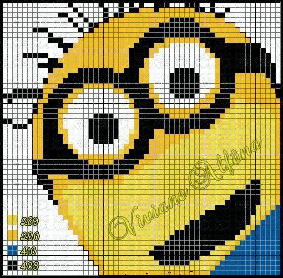 Leuk voor een pixeldeken!!!!!