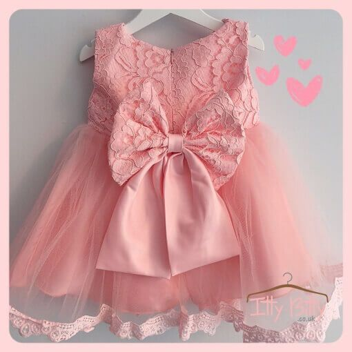 IN STOCK | Princess Bow Dress  Shop here 👉🏻https://www.ittybitty.co.uk/product/princess-bow-dress/?utm_content=buffer5b37c&utm_medium=social&utm_source=pinterest.com&utm_campaign=buffer  🅿️ PayPal or 💳 Credit/Debit card 🔐 Secure website