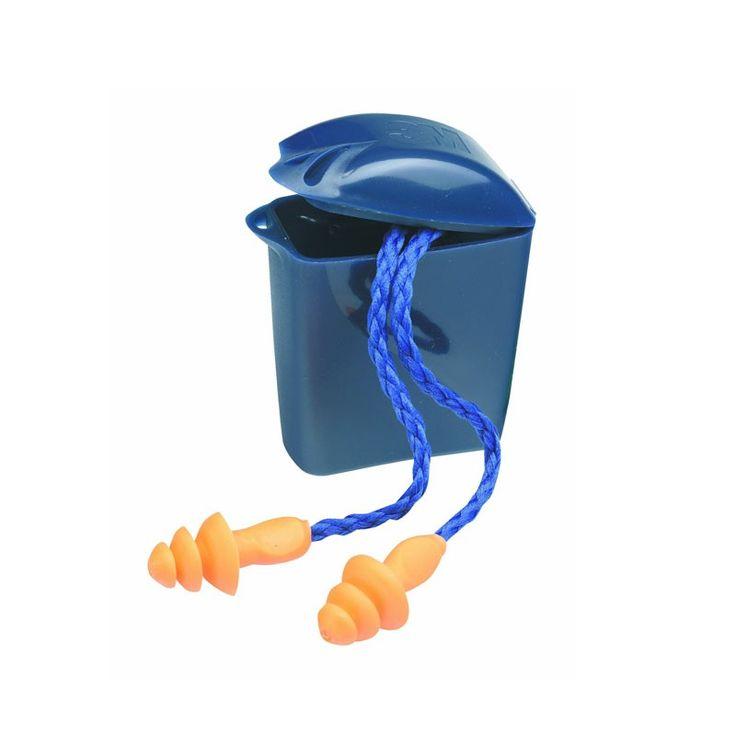 3M™ 1271 Reusable Earplug dengan Tempatnya - 250 pairs/case - Earplugs Pelindung Telinga u/ Berenang & Berpergian dg Pesawat.  3M™ Reusable Ear Plugs Corded 1271.  - Kabel kain lembut u/mencegah terjadinya kehilangan - Disarankan u/suara sedang (sampai 95 dBA TWA) - Noise Reduction Rating (NRR 24 dB).  http://tigaem.com/earplugs-earmuffs/1986-3m-1271-reusable-earplug-dengan-tempatnya-250-pairscase-earplugs-pelindung-telinga-u-berenang-berpergian-dg-pesawat.html  #earplug #pelindungtelinga…