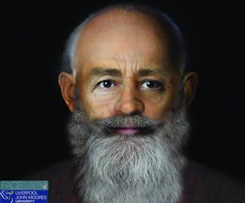 Real face of Saint Nicholas based on facial reconstruction