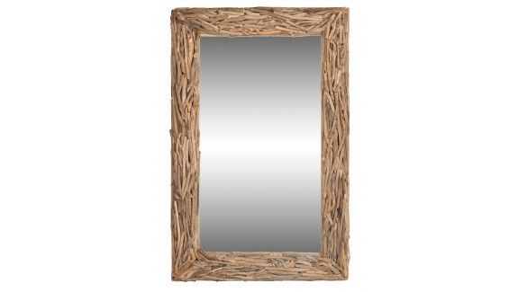 MIRROR RECLAIMED WOOD LARGE