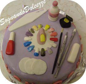 Torta nail art
