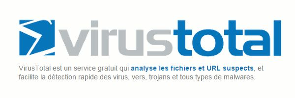 Contrôlez vos fichiers en ligne sur plus de 50 antivirus : VirusTotal #Internet #Antivirus