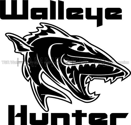 439 best walleye fishing images on pinterest fishing for Fishing vinyl decals