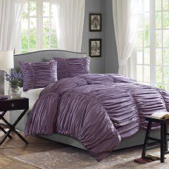 One of the gorgeous Purple comforter sets in purple you will find on my List.