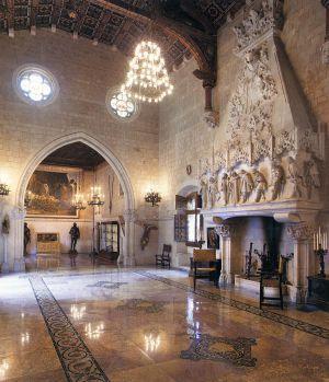 Interior,Castillo de Santa Florentina :La joya más oculta del modernismo en Cataluña