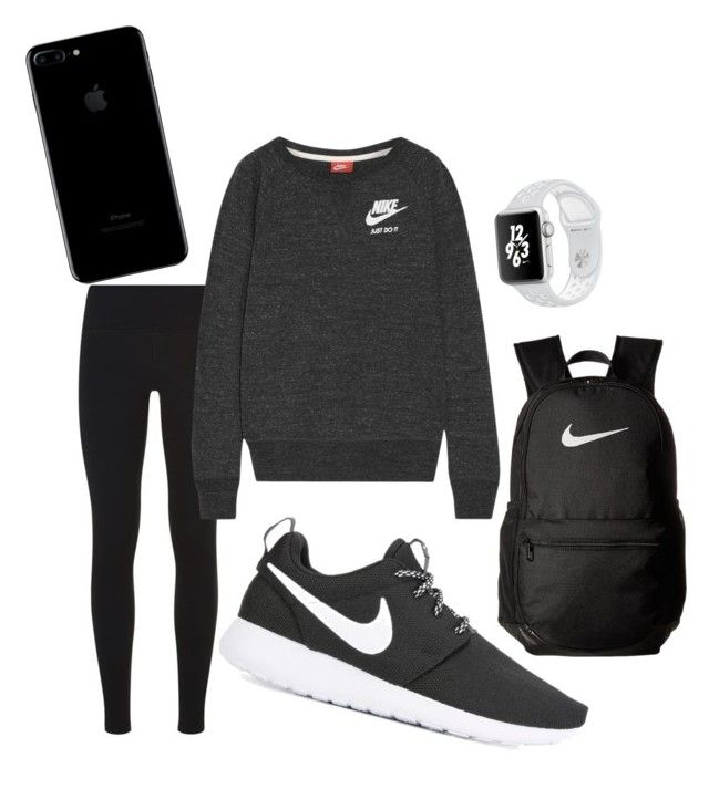 """Untitled #8"" by tamas-erdos ❤ liked on Polyvore featuring NIKE, men's fashion and menswear"