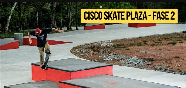 Festa de inauguração da Cisco skate Plaza