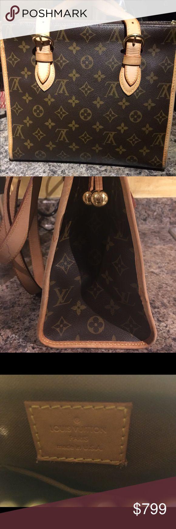 Louis Vuitton Monogram Popincourt Haut Tote Bag Louis Vuitton Monogram Popincourt Haut Tote Bag M40007-C04428 in Great condition! Authentic!!!!!!!!! Louis Vuitton Bags Shoulder Bags