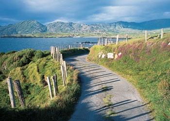 N71, route door Zuid Ierland