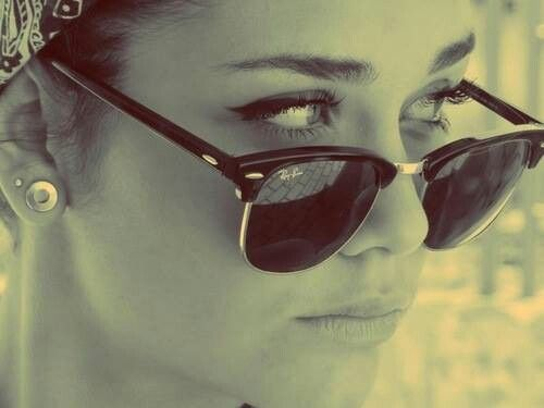 Ray-ban Clubmaster sunglasses :D