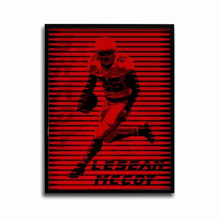 Buffalo Bills LeSean McCoy Shady 24x18 Football Poster