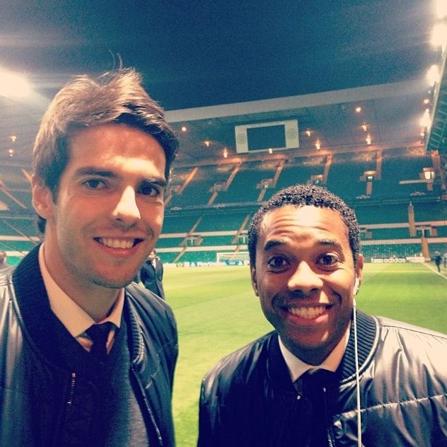 Robinho and kaka  AC Milan