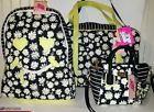 ♦❧ Betsey Johnson Weekender Daisy Floral Striped Quilted Backpack/Crossbody Low prices! http://ebay.to/2maqjm8
