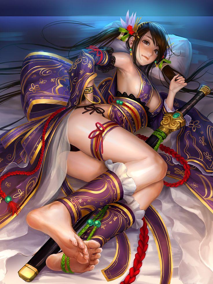 『唐姫』 「大戦乱!!三国志バトル」 | GALLERY | GRAPHIC LOOPS