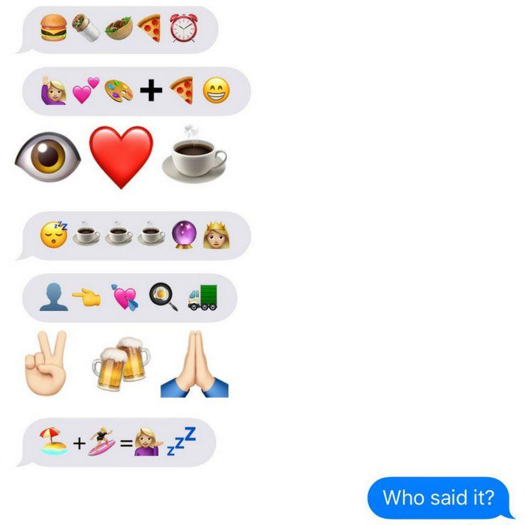World Emoji Day - Can you decipher these emoji sentences?    emojis   sentences   texting   iPhone   social media marketing   digital marketing  