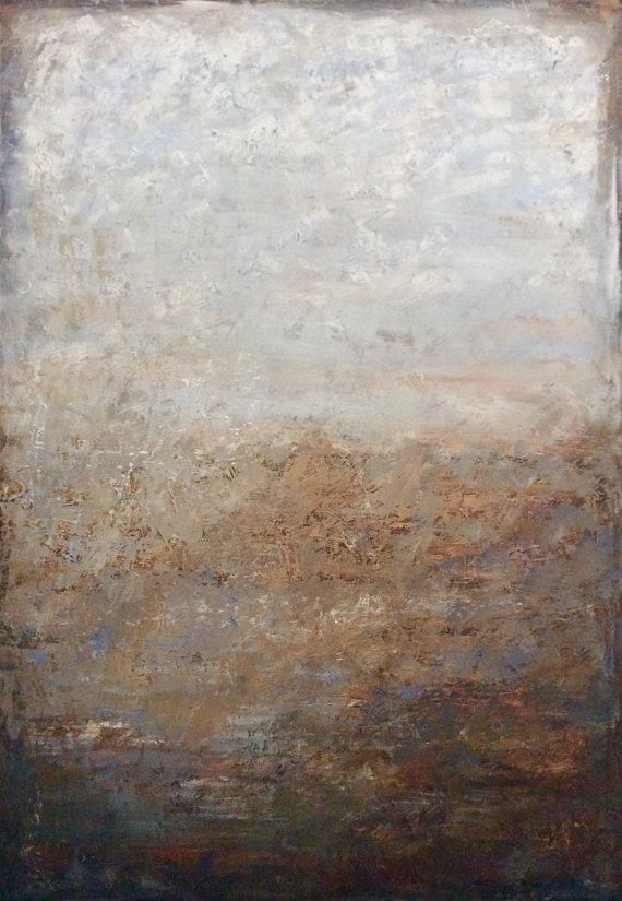Large Original Abstract Painting Large Landscape Painting