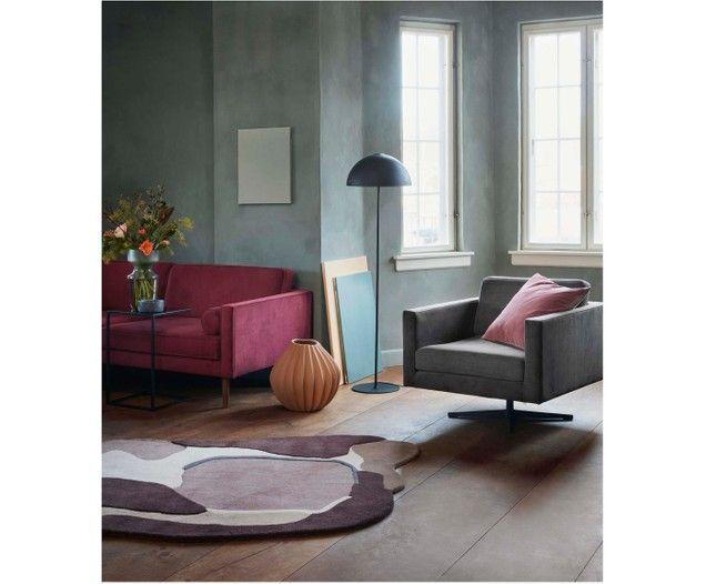 Tappeto di lana Oblivian Rugs, Interior design living