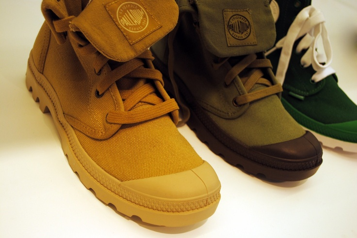 Paladium Boots, I'm still on the fence about them. maybe too edgy for me