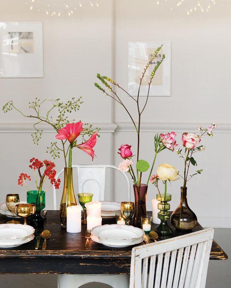 Zit jij volgende week met familie en vrienden aan het kerstdiner? Wij geven je inspiratie voor een prachtig gedekte tafel. #bloomon #christmas #inspiration
