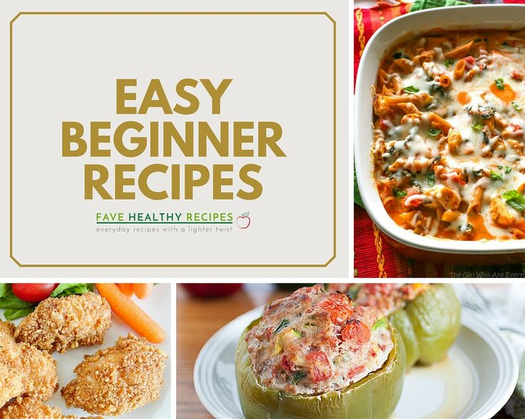 Easy first time dinner recipes