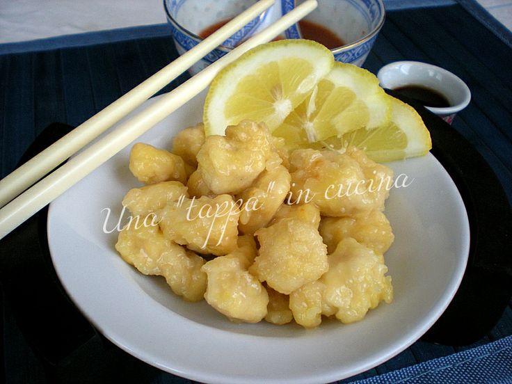 """Una """"tappa"""" in cucina > Pollo al limone alla cinese"""