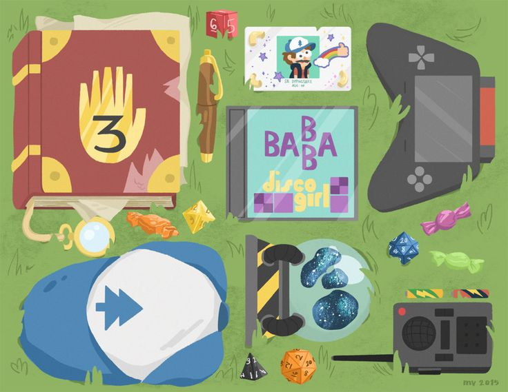 Dipper Pines- what's in your bag? essentials