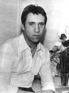 Владимир Высоцкий в гостинице «Харьков» г.Харькова (Украина). Фото Георгия Кожемякина, 28 мая 1978 года