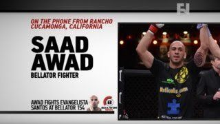 "awesome Saad Awad Talks Evangelista ""Cyborg"" Santos Bout Ahead of Bellator 154"