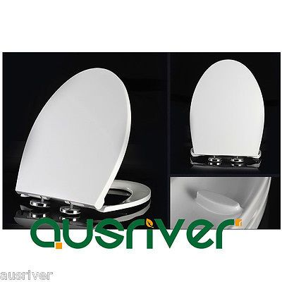 Brand new bathroom accessories toilet seat cover lid soft #close #quick #release ,  View more on the LINK: http://www.zeppy.io/product/gb/2/131922777568/