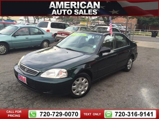 1999 Honda Civic DX Sedan 137k miles Call for Price 137351 miles 720-729-0070 Transmission: Automatic  #Honda #Civic #used #cars #AmericanAutoSalesandLeasing #Denver #CO #tapcars