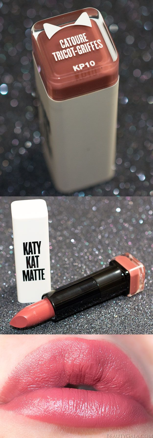 Covergirl Katy Kat Matte Lipstick Swatches & Review