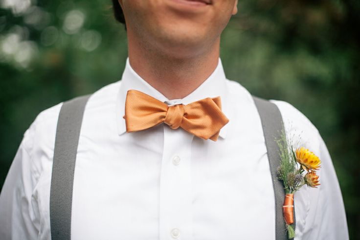 Suspenders And Bow Tie With Handmade Wildflower Boutonniere S P Pinterest Bow Ties Ties