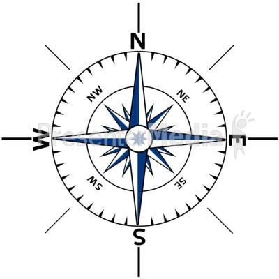 Nautical Compas Stencils Printable Free | Nautical Compass Outline - Signs and Symbols - Great Clipart for ...
